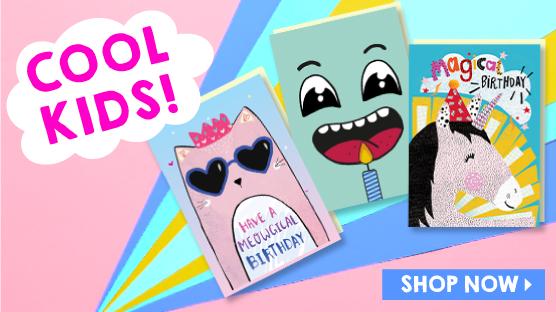 Shop Kids Cards Exclusive To Scribbler