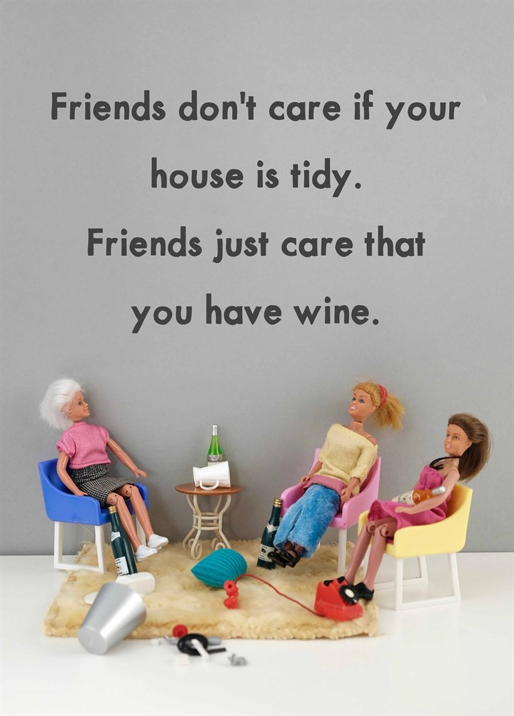 Friends Care About Wine