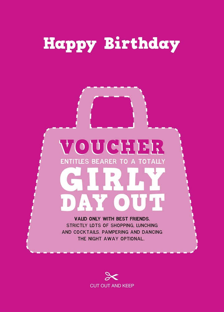Girly Day Out Voucher
