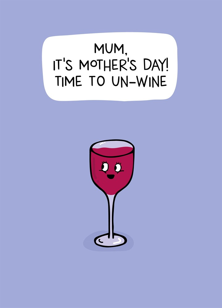 Time To Un-Wine