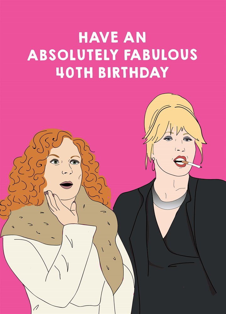 Fabulous Age Birthday