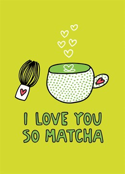 Let someone know exactly how much you love them with this card designed by Angela Chick.