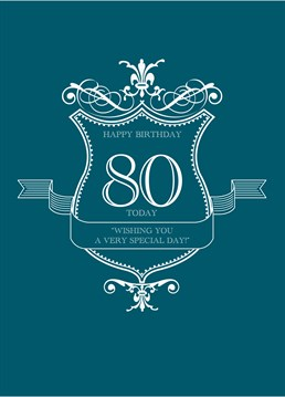 80th Very Special Day