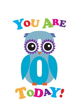 This adorable Owl card by Art File is perfect to send to your buddy turning 8 years old.