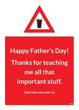 Send this great Brainbox Candy card to your wisest teacher this Father's Day.