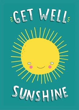 Add a little sunshine to someone's life with this cute and fun card by Brainbox Candy.