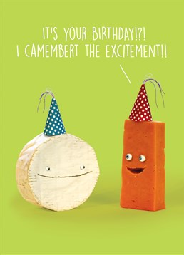 It's your Birthday! If you have a friend who loves cheesy random jokes, then why not show your friend this punny Brainbox Candy card.