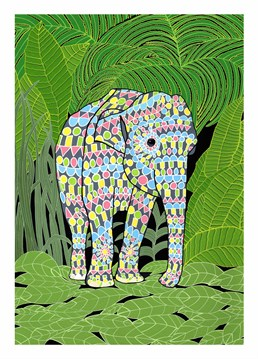 This card by Bird is perfect from any occasion, especially for someone who loves Elephants!