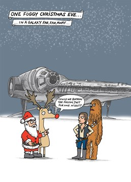 We all know how much some people love Star Wars, well why not buy this funny Christmas card from creative designers at Cardinky.