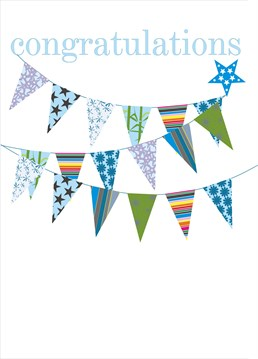 Send this adorable congratulation card by Claire Giles to show them how proud you are of them.