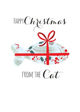 We all love our pets so why not get them involved this festive season and make someone's face light up with this Claire Giles card.