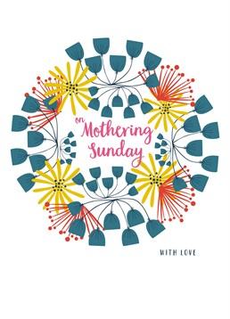 On Mothering Sunday, by Claire Giles. It's Mothering Sunday so why not show how much you love your mum with this sweet card.
