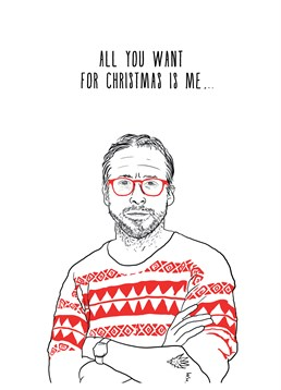 We don't think you can get anything better for Christmas than Ryan Gosling. Send this Scribbler card to a super fan this Christmas.