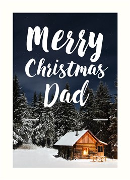 This lovely Scribbler Christmas card is perfect to send to your Dad over the festive season!