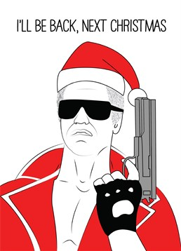 If Christmas time is your favourite time of year then send this hilarious Terminator Scribbler card.