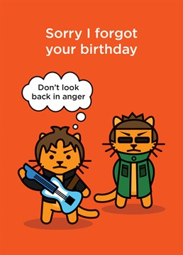 Forgot their birthday? Don't worry we have a card for that ! A card designed by CardShit.