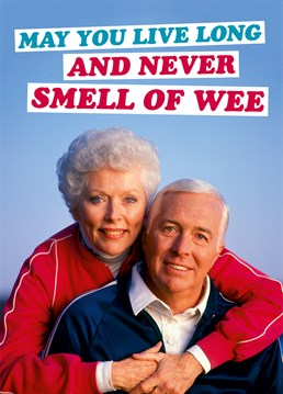 Never Get So Old That You Smell Of Wee All The Time Dean Morris Gives