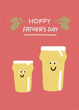 Wish your beer-loving Dad a hoppy Father's Day with this Scribbler card.