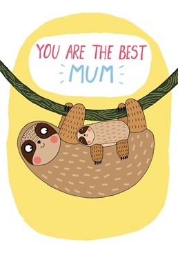 Tell your Mum how great she is with this adorable card from Forever Funny.