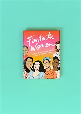 Fantastic Women Card Game. Your friends and family will love this Scribbler favourite as much as we do, so go on treat them (or yourself!). Books