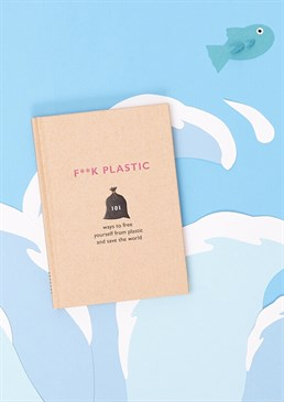Right now, 51 trillion particles of plastics are swimming around in our oceans. Think you can't make a difference? Well guess what, you can help to save the world. Yes, you! And it's really not that hard. Put on your superhero cape and take up arms in the war against plastic. This little book contains 101 simple ideas to get you on the right track. Whether you want to make a conscious effort to be kinder to our planet or convert someone else to the cause, this hardback by The F Team is a great way to start. What starts as a gift, could end up making a big impact on the future of our environment! Find out how you as an individual can cut down plastic consumption inside the home, within Food & Drink, and in your everyday lifestyle! Cards and gifts are sent separately. View our Delivery page for more details on Gift processing and delivery times.