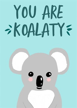 Send your friend, loved one or colleague this illustrated koala card. Whether it is to wish them a happy birthday or simply to let them know how cool they are.