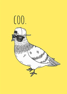Send this Jolly Awesome card to someone who thinks they're as cool as this pigeon.