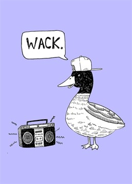 Send this Jolly Awesome card to someone who thinks they're as cool as this duck.
