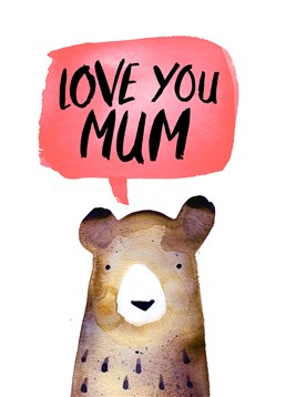 We don't think your Mum could bear not having this Jolly Awesome card for Mother's Day.