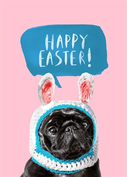 Wish someone a Happy Easter with this adorable Jolly Awesome card.