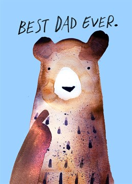 Send your Papa Bear this adorable card by Jolly Awesome this Father's Day.