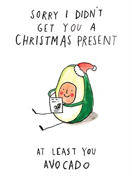 Send this Jelly Armchair card to someone who can't get enough of avocados!