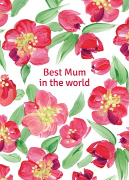 Send this beautiful Lucilla Lavender card to your Mum this Mother's Day and tell her what a great Mum she is.