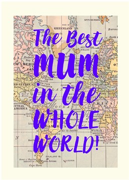 If you?re looking for a card to sum up your Mum in a few words grab this Scribbler card and make her smile!