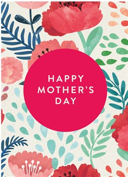 Wish your Mum a Happy Mother's Day with this adorable card by Scribbler.