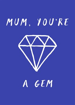 If your Mum has a heart of a gem let her know with this Scribbler card.