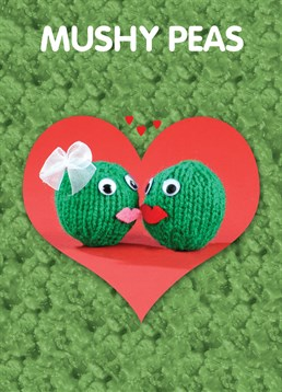 Some people get really mushy on Valentine's Day. Why not join in with this Mint card?