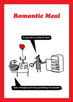 For some people being in a relationship comes more naturally than others... Inject some romance into their life with this funny Valentine's card by Modern Toss.