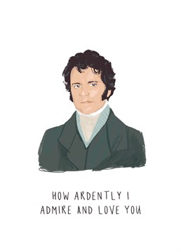 Make a lover of the classics completely and perfectly and incandescently happy with this most romantic gesture. And Colin Firth of course. Designed by Middle Mouse.