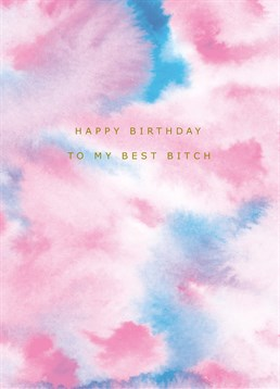 Send this Portico Designs card to your favourite bitch on her birthday!