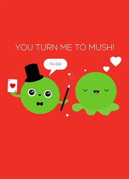 Like two peas in pod, they simply make you melt! Send this magical Valentine's design by Pango Productions.