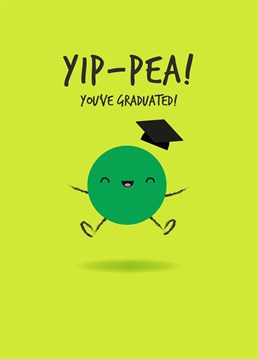 Send this fun graduation design to officially congratulate a clever sausage on their achievement! Designed by Pango Productions.