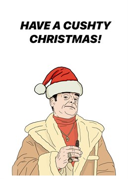 Bring out your inner Del Boy this holiday season and wish someone a lovely jubbly Christmas with this Pedges Houseboat card. You know it makes sense.