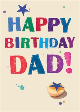 This Wiscombe Art card is perfect to your Dad on his special day.