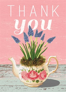 This Wiscombe Art card is a sweet way to say thank you.