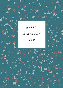 Wish Happy Birthday to your Dad and send him this lovely Paper Plane card.