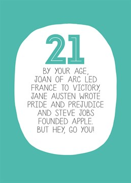 By Your Age 21