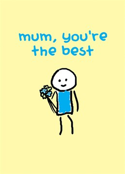 Give this card by Redback to your Mum on Mother's Day and make her feel special.