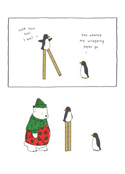 These young active penguins only want to have some fun just like every young child around Christmas time. Why not buy this Redback card for family or friends at Christmas?