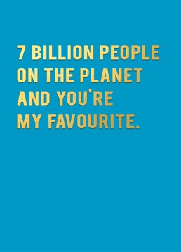 7 Billion People On This Planet